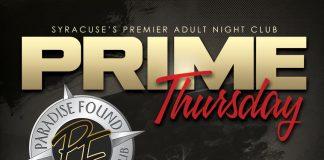 Prime Thursday's at Paradise Found